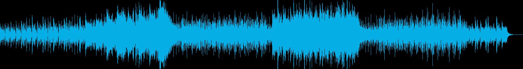 疾走感あるトランペット壮大曲の再生済みの波形
