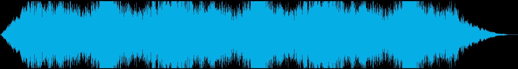 ドローン 吐き出す01の再生済みの波形