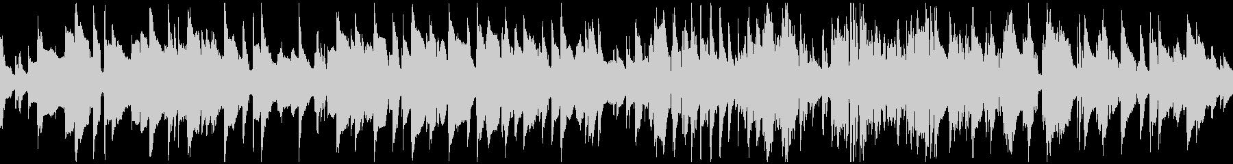 蛍の光/ジャズサックス ※ループ仕様版の未再生の波形
