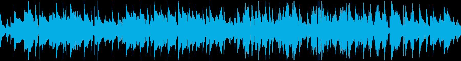 蛍の光/ジャズサックス ※ループ仕様版の再生済みの波形