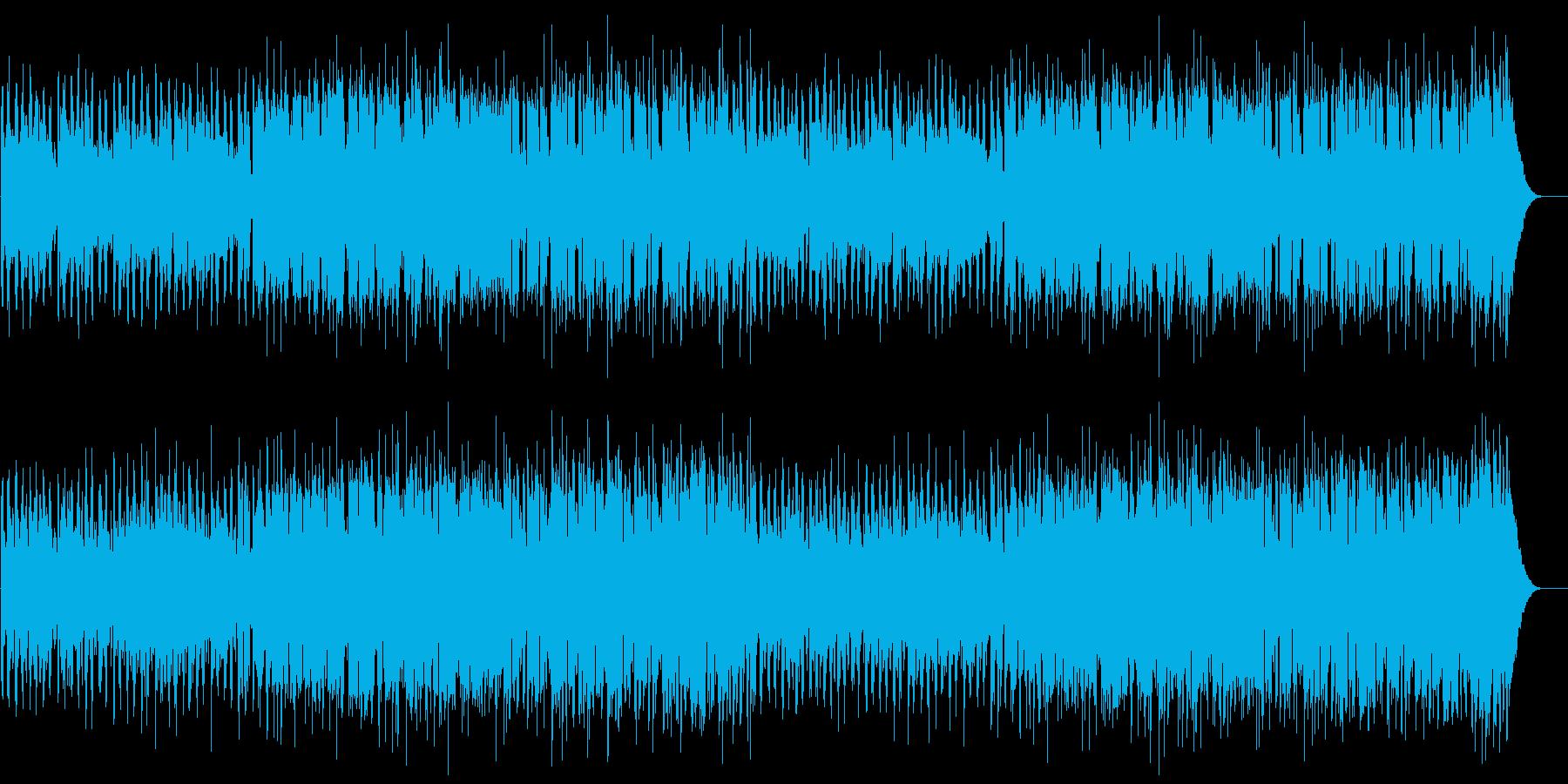 不思議でスタイリッシュなBGMの再生済みの波形