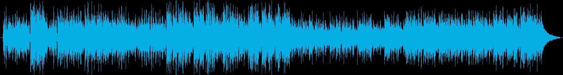 Gガーシュインの名曲を軽快なルンバでの再生済みの波形