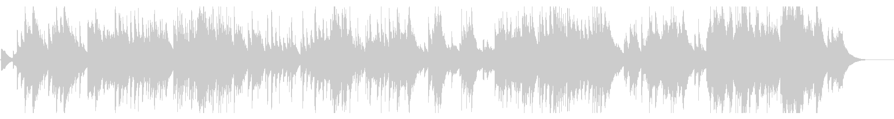 六段の調 お琴 3面の未再生の波形