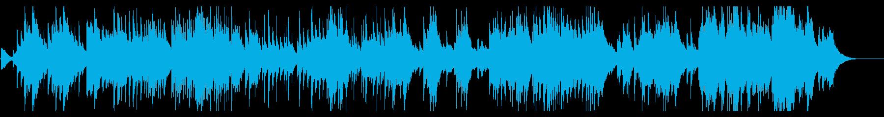 六段の調 お琴 3面の再生済みの波形