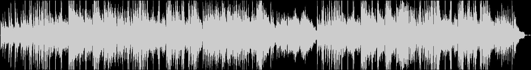 優しいピアノ・フルートの癒し系楽曲の未再生の波形
