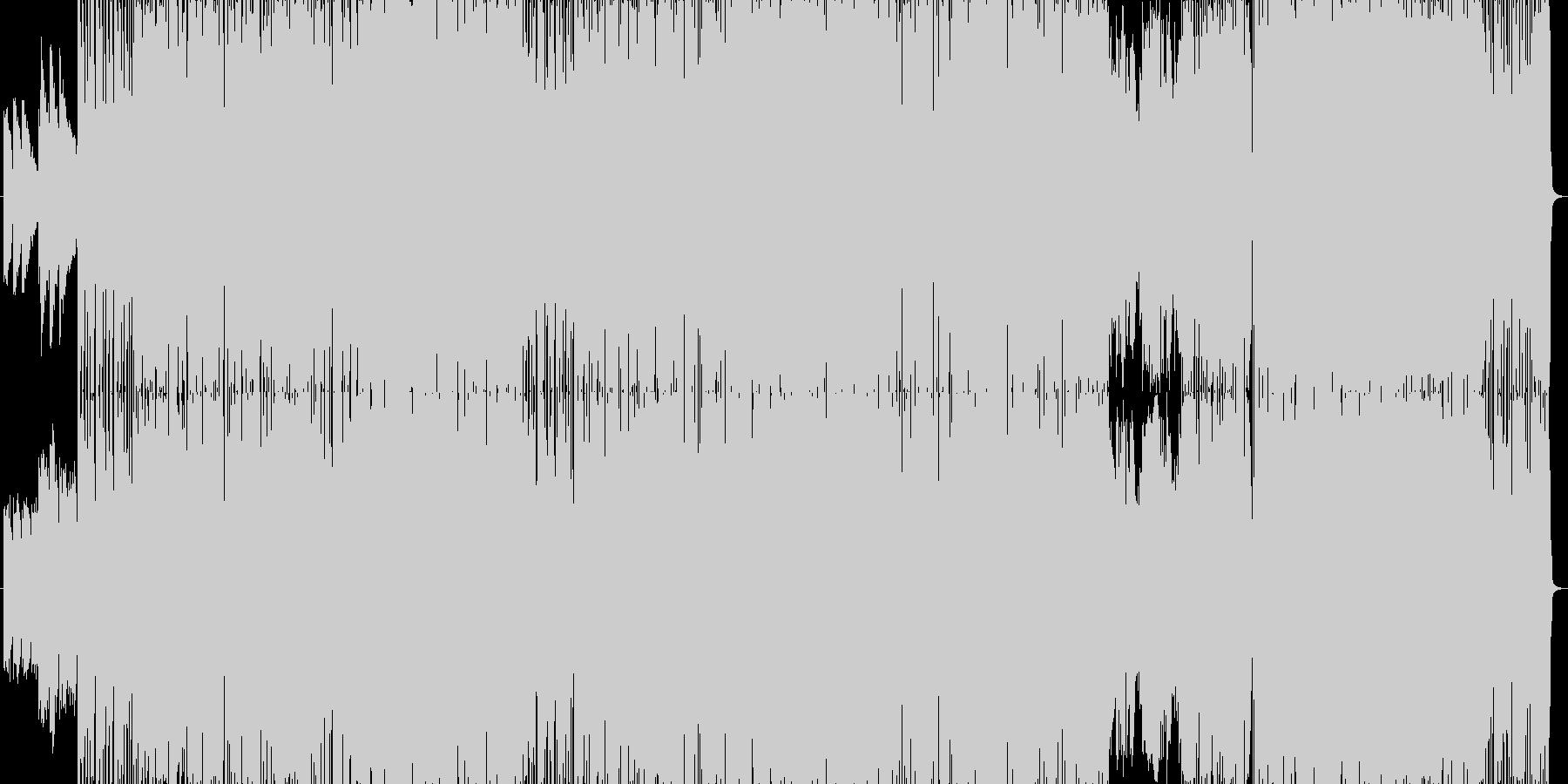 派手でスピード感のあるロック曲。の未再生の波形
