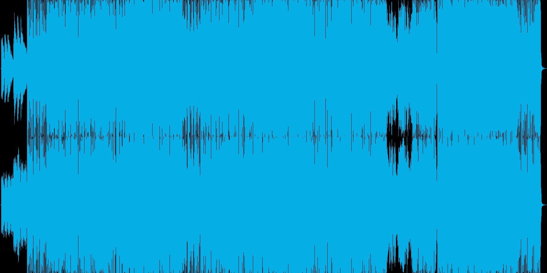 派手でスピード感のあるロック曲。の再生済みの波形