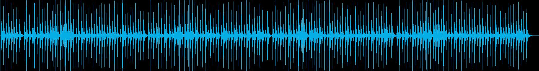"Okinawa folk song ""Iwaibushi (slow play)"" Sanshin only's reproduced waveform"