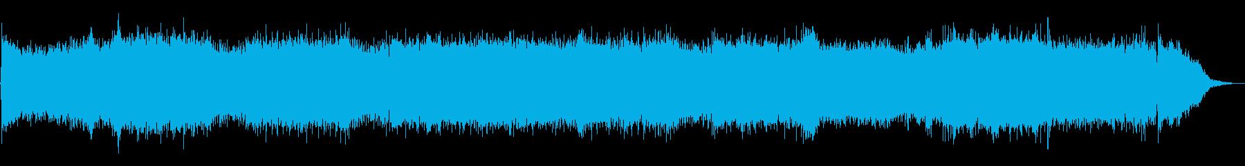 Cyber War_オーケストラ無しの再生済みの波形