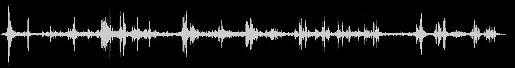 【自然音】雷鳴03#2(バイノーラル)の未再生の波形