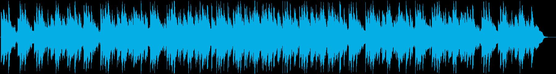 やさしい雰囲気のピアノ系バラードBGMの再生済みの波形