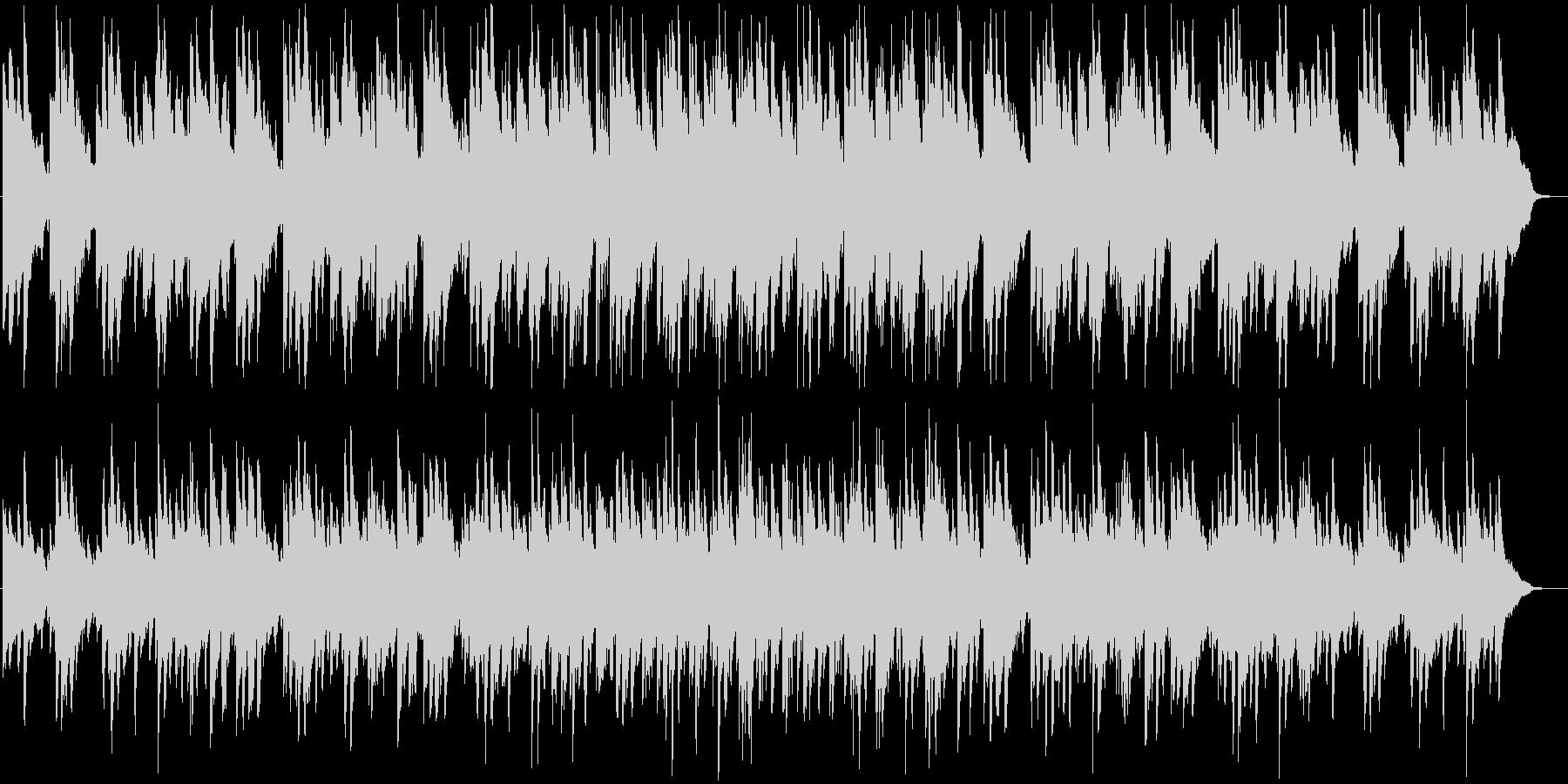 やさしい雰囲気のピアノ系バラードBGMの未再生の波形