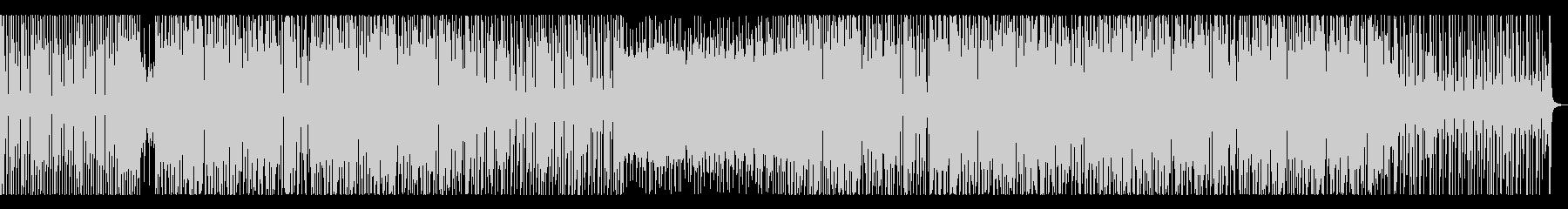 ベースムーンバートン風ダンスミュージックの未再生の波形
