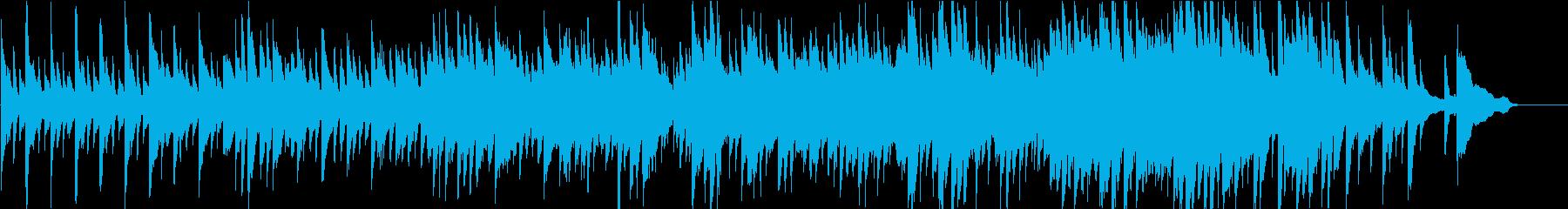和の旋律を用いたピアノ楽曲 祝い事等にの再生済みの波形