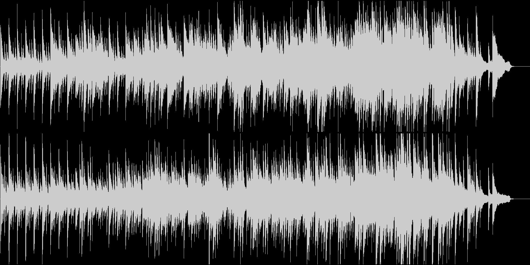 和の旋律を用いたピアノ楽曲 祝い事等にの未再生の波形