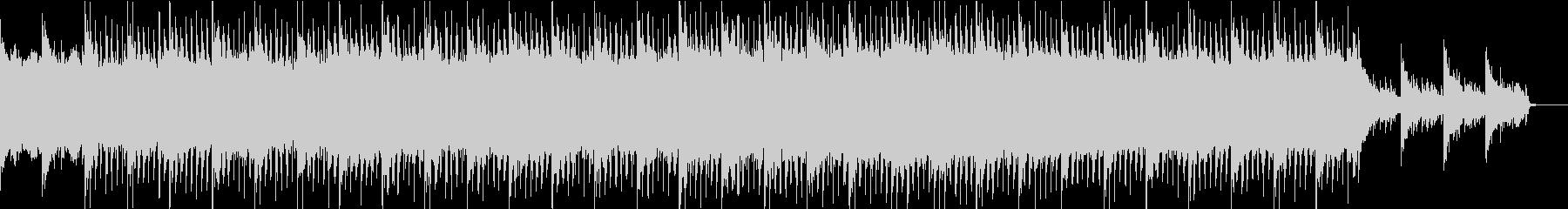琴と尺八のエレクトロの未再生の波形