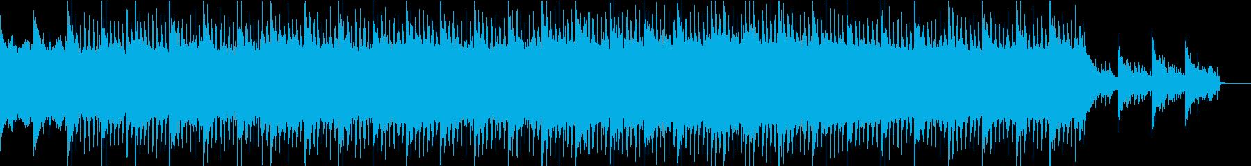 琴と尺八のエレクトロの再生済みの波形