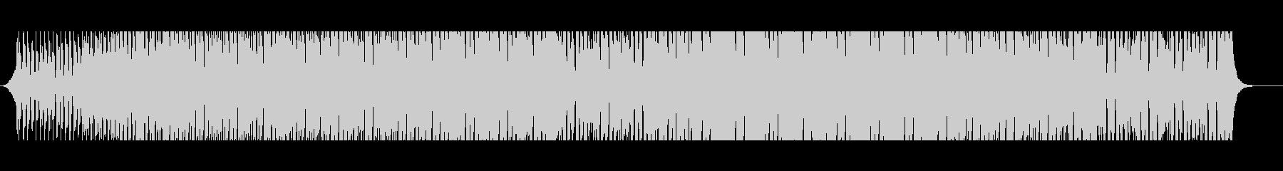 トロピカルパラダイスの未再生の波形