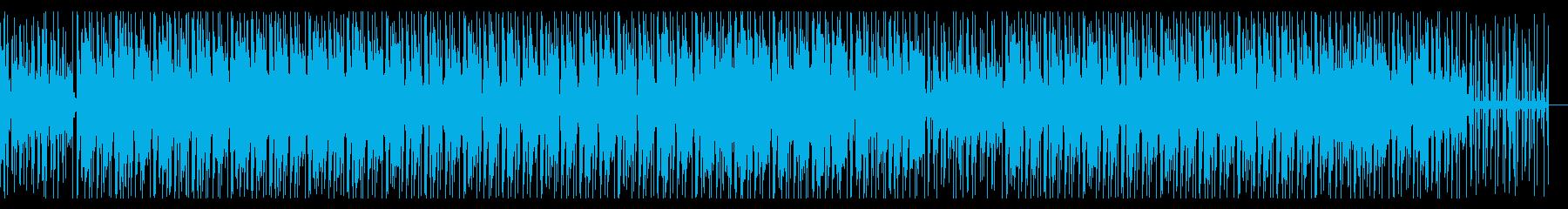 ドリーミー・爽やか・温もり・メロウ・鍵盤の再生済みの波形