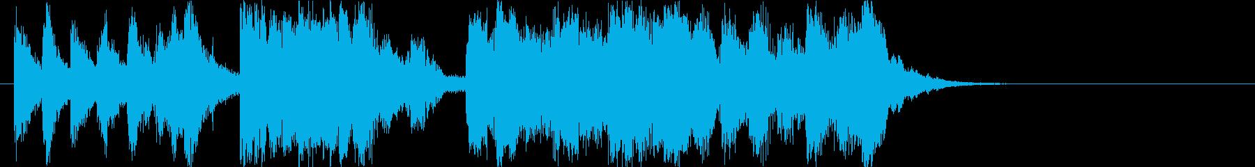 明るくファニーなオーケストラロゴ♪の再生済みの波形