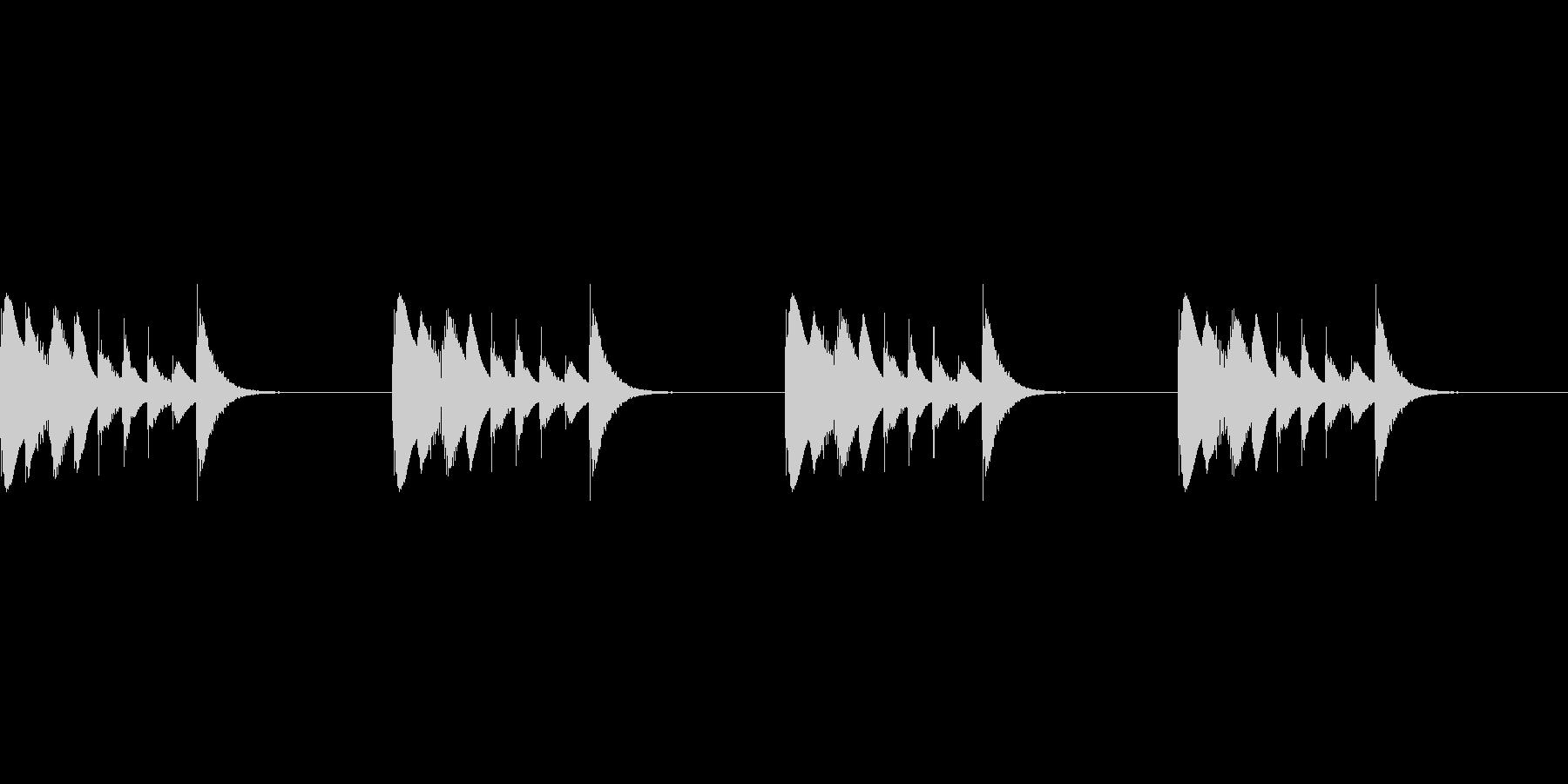 よく聴く着信音のパロディ_01_MOの未再生の波形
