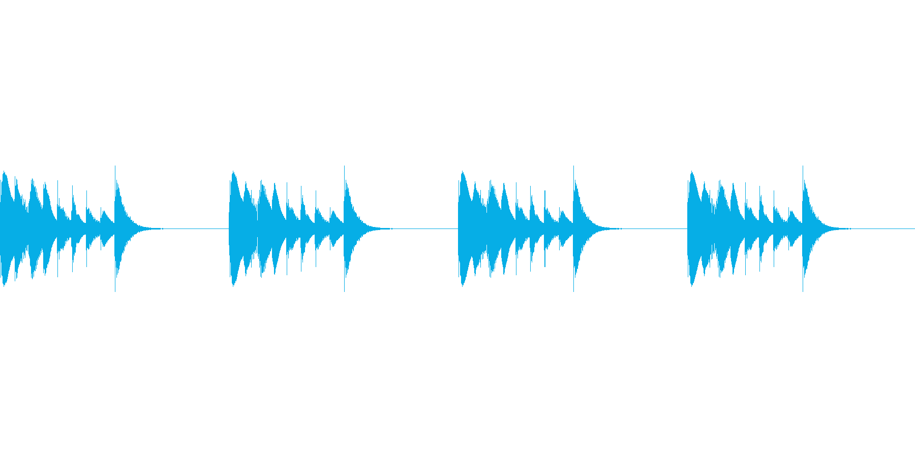 よく聴く着信音のパロディ_01_MOの再生済みの波形