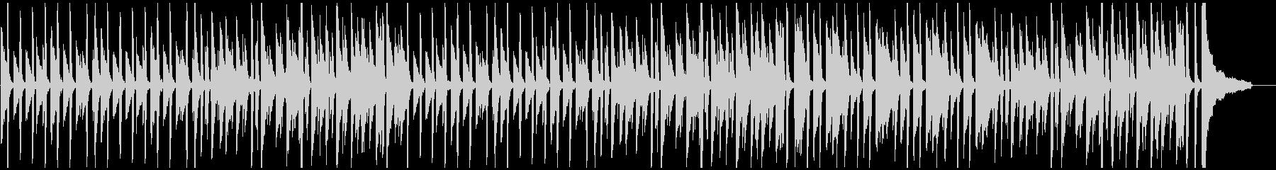 小さなかえるのピアノの未再生の波形