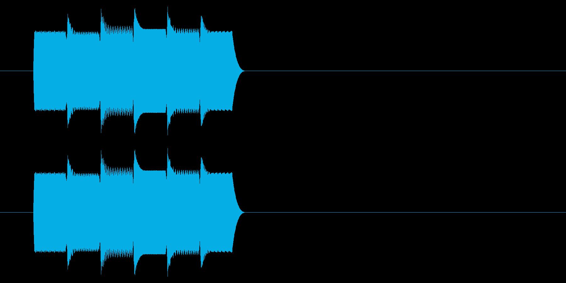 コンピューター/解析完了_01の再生済みの波形