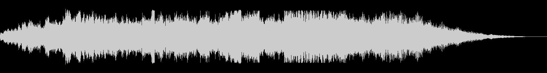 KANT和風オーケストラBGMの未再生の波形