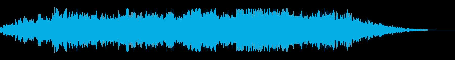 KANT和風オーケストラBGMの再生済みの波形