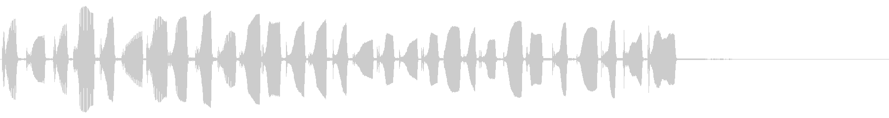 アコーデオン:スクランブルアップア...の未再生の波形