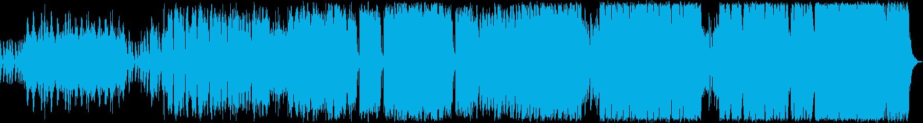 少し滑稽でかつ冒険心にあふれる中世ヨー…の再生済みの波形