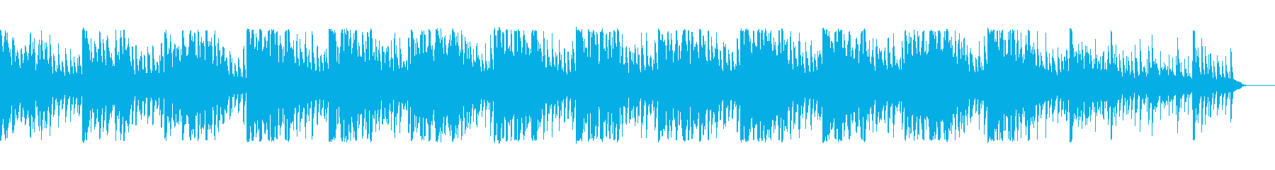 幻想的な変拍子のミニマルの再生済みの波形