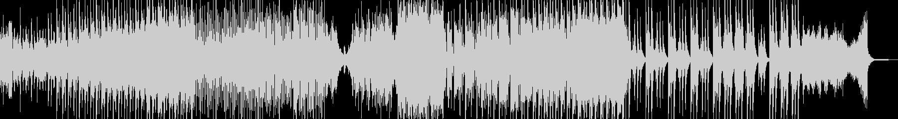 ホラー・怪談シーンに適したBGM 短尺の未再生の波形