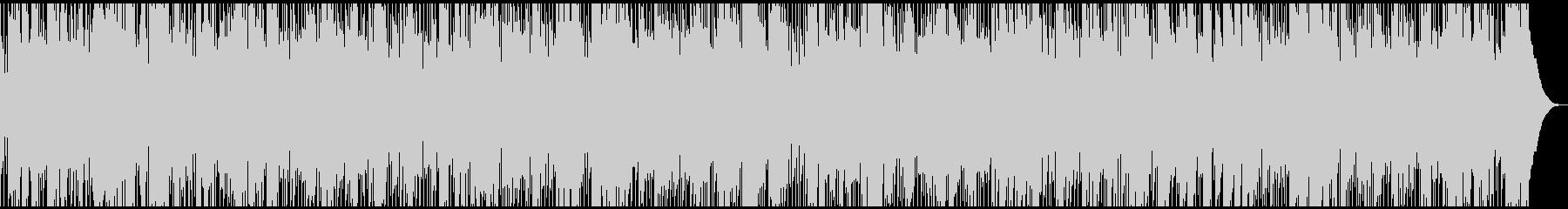 生音ハーモニカの軽快アコースティック曲の未再生の波形