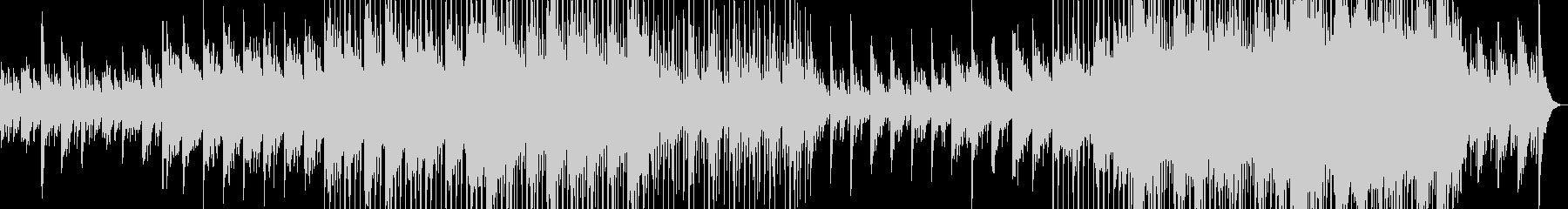 心休まるピアノのバラードの未再生の波形