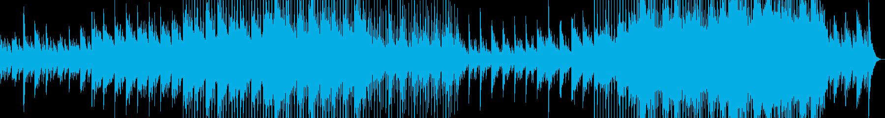 心休まるピアノのバラードの再生済みの波形