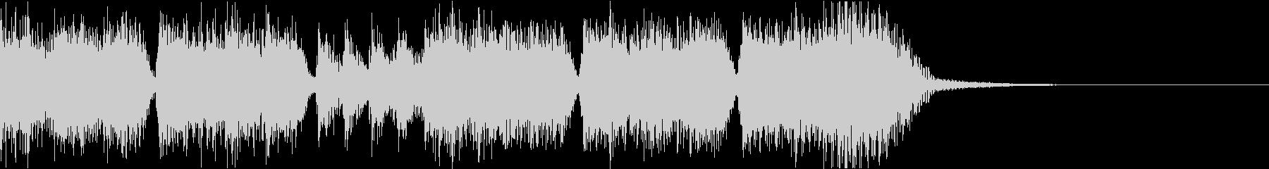 エネルギッシュ・ロックなサウンドロゴ04の未再生の波形