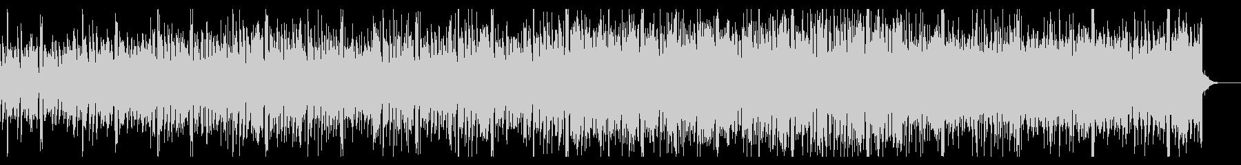 シンプルに進展するハウス・エレクトロニカの未再生の波形