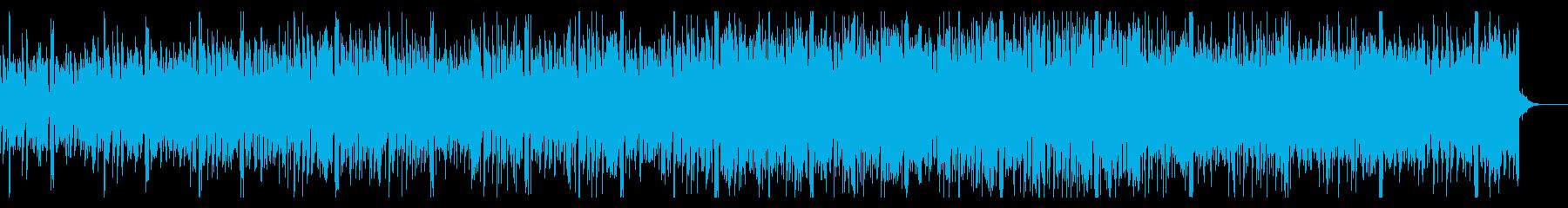 シンプルに進展するハウス・エレクトロニカの再生済みの波形