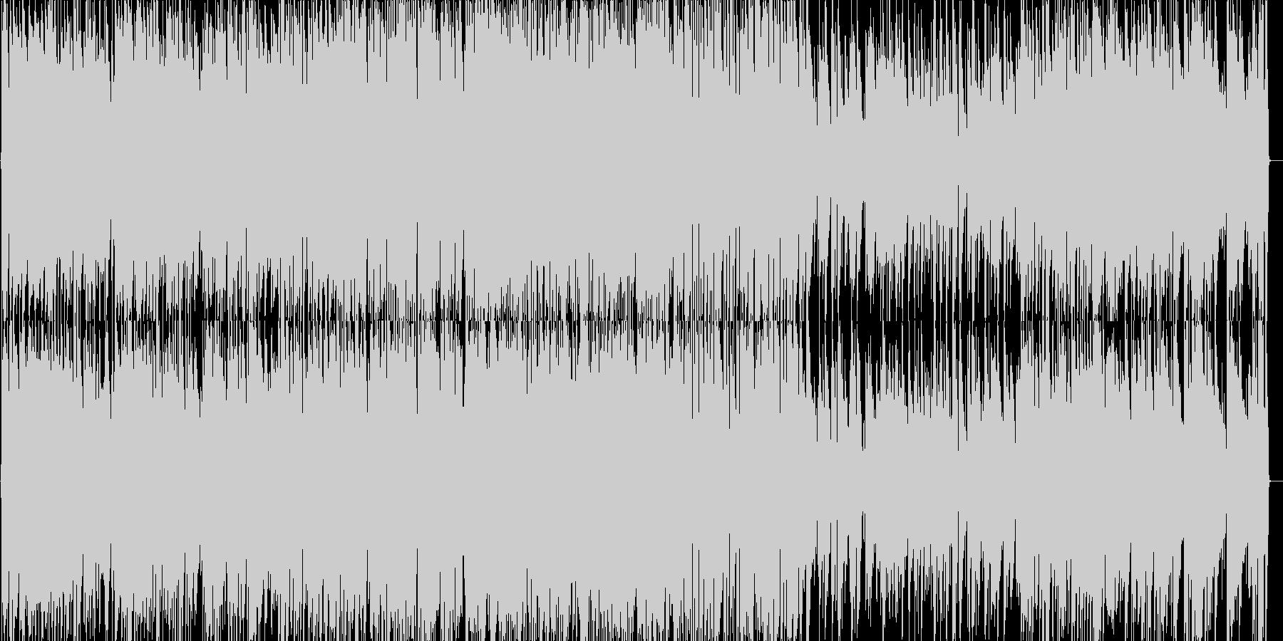 グリーンスリーブスのジャズピアノの未再生の波形
