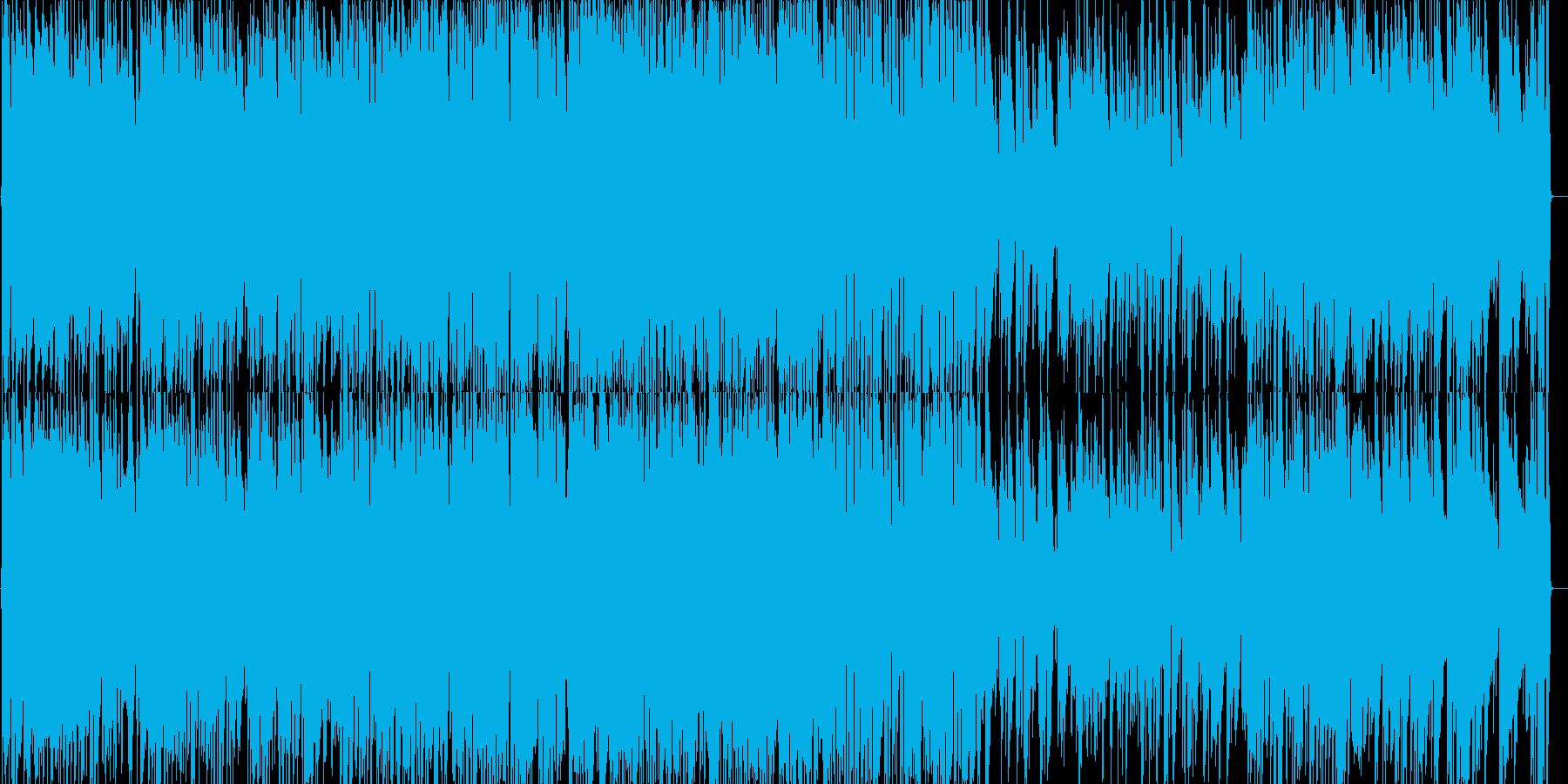 グリーンスリーブスのジャズピアノの再生済みの波形