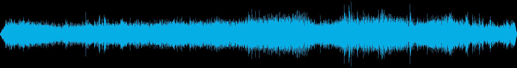 トラックディーゼルスローシフトの再生済みの波形