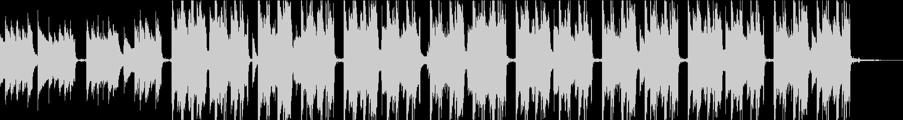 Lo-FiでおしゃれなゆったりしたBGMの未再生の波形