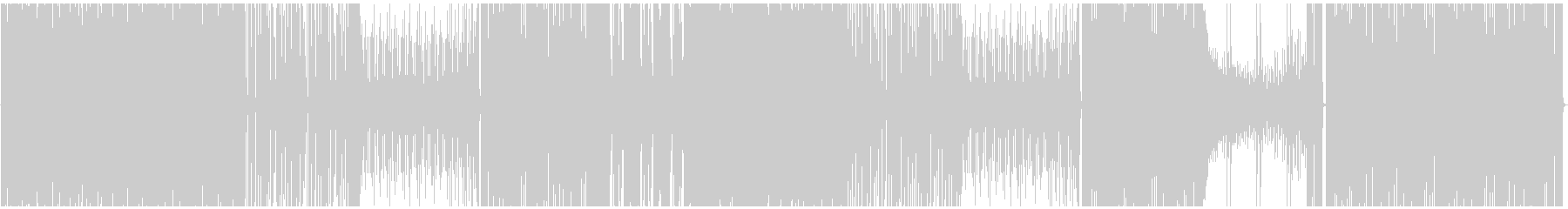 【生エレキ】デジタルロック、リフがメインの未再生の波形