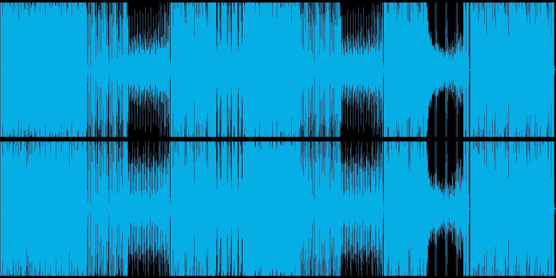 【生エレキ】デジタルロック、リフがメインの再生済みの波形