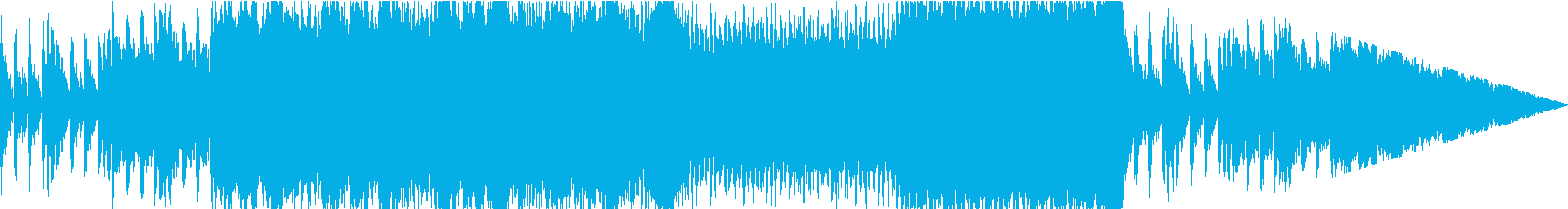 希望の中に新スタートを見つけるBGMの再生済みの波形