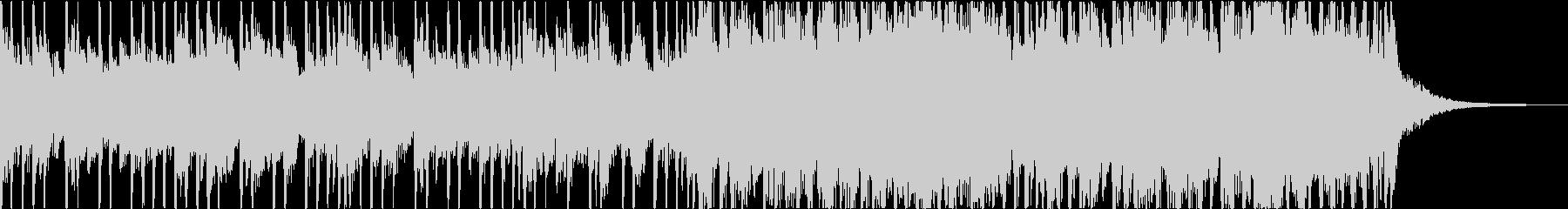 ダークで不穏・ヘヴィなエレキのメタルの未再生の波形