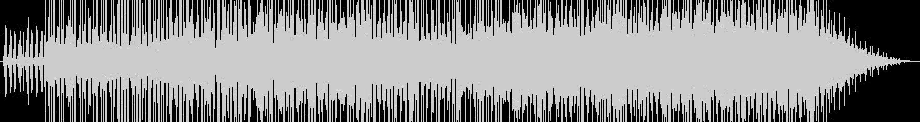 爽快エレクトロポップの未再生の波形