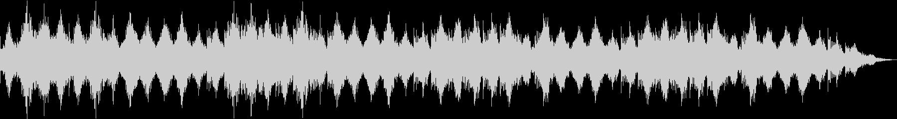 444Hzにチューニングされた癒やしの音の未再生の波形